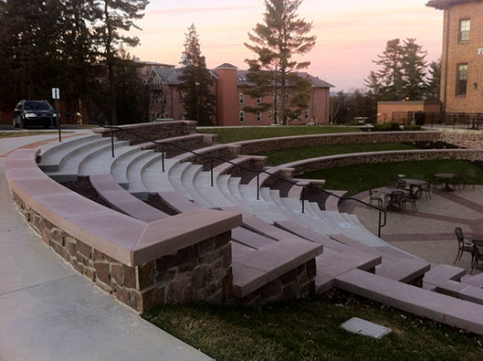 faddis cast stone amphitheater seating529x396