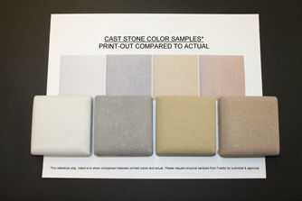 Cast Stone Color Options